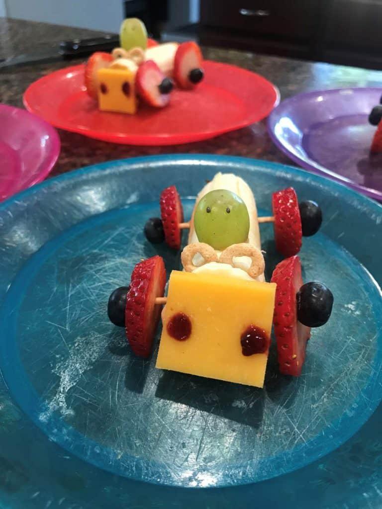 Des assiettes amusantes pour les enfants